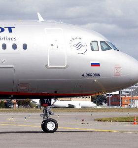 """Aeroflot"" pelnas pernai beveik padvigubėjo"