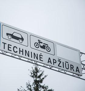 Nauja ministerijos tvarka: kitąmet brangs automobilių techninė apžiūra