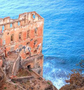 """Tenerifės saloje – įspūdingi """"Vandens namų"""" griuvėsiai"""