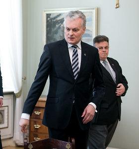 Prezidentas susitiko su ministrais dėl ES daugiametės finansinės perspektyvos