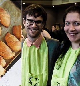 """""""Vegan Pipiro"""" receptas: pyragėliai su obuolių ir aguonų įdaru"""