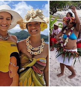 """""""Egzotiškos patirtys"""" Prancūzijos Polinezijoje: katamaranu po rojaus salas ieškant juodųjų perlų"""