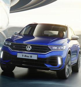 """""""Volkswagen T-Roc R"""": nauja kompaktiško miesto visureigio versija"""