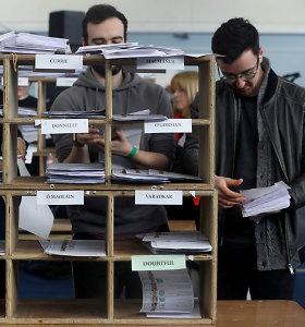 Airijos po atkaklių visuotinių rinkimų laukia chaotiškos derybos dėl koalicijos