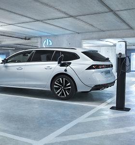 """Sunku patikėti: """"Peugeot 508 Hybrid"""" vidutiniškai suvartoja tik 1,3 l/100 km benzino"""