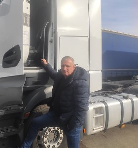 Gintaras Čiužas: Komandiruojami vairuotojai norėtų ilgesnių nemokamų atostogų