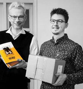 """Justino Žilinsko ir Povilo Vincento Jankūno komiksas """"Atgal į Vilnių!"""" – pagreitinta 700 metų Vilniaus istorija"""