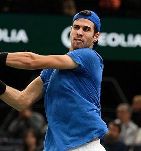 """""""Masters"""" turnyras Paryžiuje turės naują čempioną – titulą gynęs rusas patyrė fiasko"""