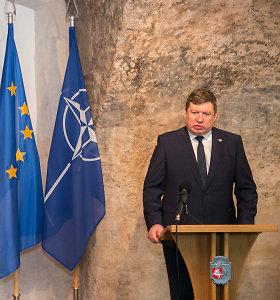 R.Karoblis: NATO pasiūlymai dėl oro gynybos – kitąmet
