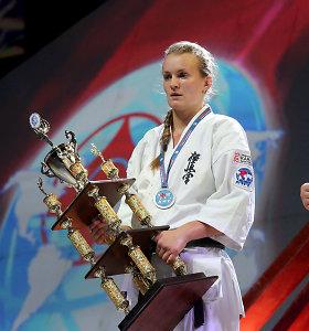 B.Gustaitytė laimėjo karatė turnyrą Vengrijoje