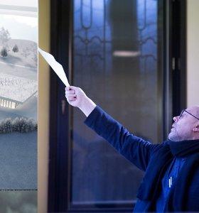 """Architektas G.Natkevičius – apie pakitusį """"Mokslo salos"""" projektą: tiršta architektūrinių nuotykių"""