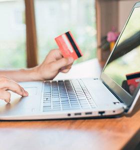 Bankų asociacija: kodų kortelių sparčiai atsisakoma