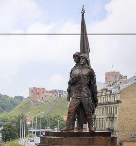 Meras: nesant palaikymo, Vilniaus taryba nesvarstys Žaliojo tilto skulptūrų klausimo