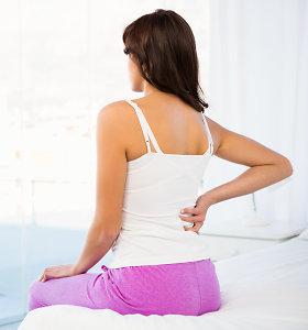 Skausmas juosmens srityje: kineziterapeutas įvardijo priežastis ir patarė, ko saugotis