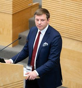 V.Šapoka: euro zonos finansinės pagalbos fondas bus naudojamas kovai su koronavirusu