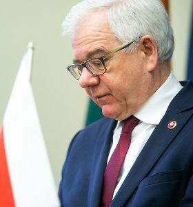 Lietuvos svarstymai dėl rinkimų kartelės sukėlė nerimą Lenkijoje