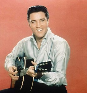 Rokenrolo karalius Elvis Presley