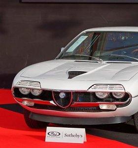 """Retas ir brangus """"Alfa Romeo Montreal"""": priekinių žibintų dangteliai verčia aikčioti ir kelia šypseną"""