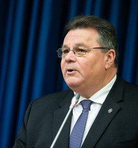 L.Linkevičius: panikos kėlimas dėl Astravo gali pakenkti užsienio investicijoms Lietuvoje