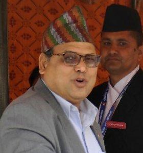 Nepalo parlamento pirmininkas suimtas dėl kaltinimų išžaginimu