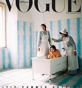 """Kritikuojamas portugališko """"Vogue"""" viršelis – prastas skonis ar būdas problemoms nušviesti?"""