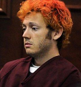 JAV kino teatre siautėjusį Jamesą Holmesą teisėjas nurodė įkalinti iki gyvos galvos