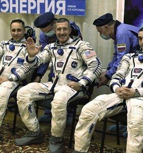Kosmonautai: TKS yra geriausiai nuo koronaviruso apsaugota vieta