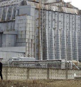 Černobylio elektrinės sarkofagas – ties griūties riba: jį teks skubiai nuardyti