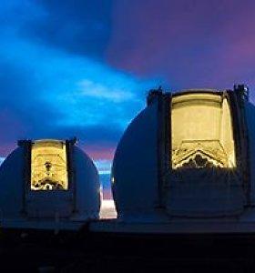 Kosminės astronomų akys – teleskopai