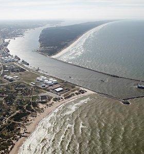 Į Klaipėdos uostą atkeliaus didžiausias Baltijos šalyse dokas