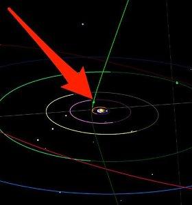 Krymo astronomas mėgėjas atrado galimai iš tarpžvaigždinės erdvės atskriejusią kometą