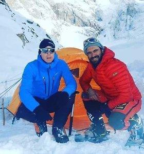 Pakistano šiaurėje aptikti dviejų dingusių alpinistų palaikai