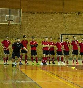 Lietuvos futsal jaunimo rinktinė pradeda naują etapą
