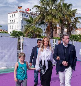 Aktorius Johnas Travolta su šeima
