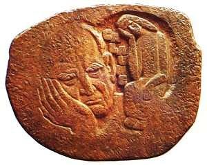"""Kamane.lt nuotr./J.Kėdainio sukurtas medalis """"Paulius Galaunė"""""""