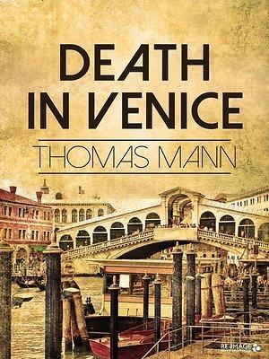 """Knygos viršelis/""""Mirtis Venecijoje"""""""