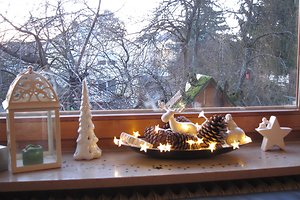 Eglės J. kalėdinė dekoracija
