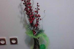 Gintarės B. (Panevėžys) kalėdinė dekoracija