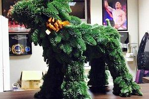 Ievos Š. (Šiauliai) kalėdinė dekoracija
