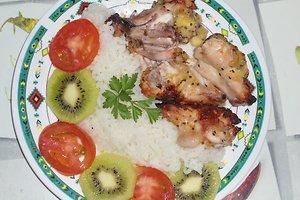 Egzotinis paukštienos šašlykas (Janinos M. receptas)