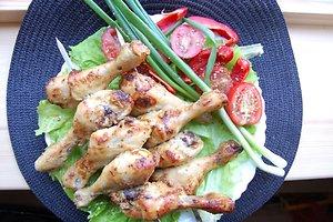 Sultingas vištienos blauzdelių šašlykas (Egidijaus receptas)