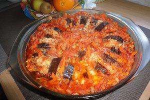 Baklažanai turkiškai (Rasos J. receptas)