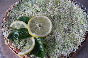 Obuolių pyragas su bazilikais (Reginos R. receptas)