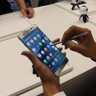 """Samsung Galaxy Note 7"" skandalas"