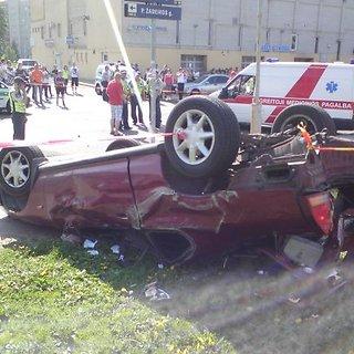 Honda avarija