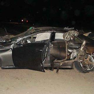 Mercedes avarija