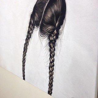 Rudi plaukai