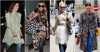 Sluoksniuojame: džinsų ir suknelių deriniai – puikiai tiks ir rudeniui