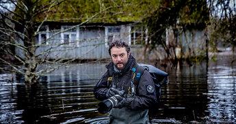 """Fotožurnalistas V.Balkūnas – apie kritines situacijas darbe: """"Esu išnaudojęs 3,5 gyvybės"""""""