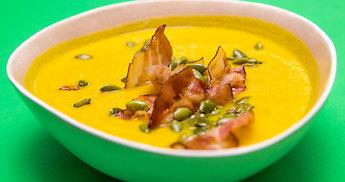 Kreminė moliūgų sriuba – šventė ir pilvui, ir gomuriui